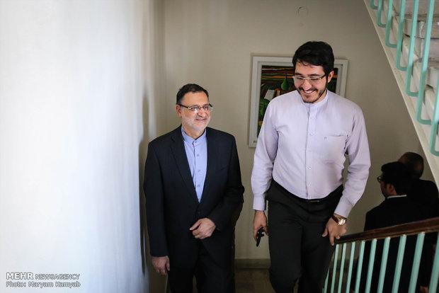 زيارة رئيس منظمة الحج والزيارة لمقر وكالة مهر للأنباء