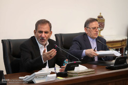 انعقاد جلسة مجلس الشورى الاقتصادي بحضور جهانغيري