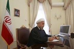 روحاني يهنئ المنتخب الايراني لرفع الاثقال لاحرازه بطولة العالم