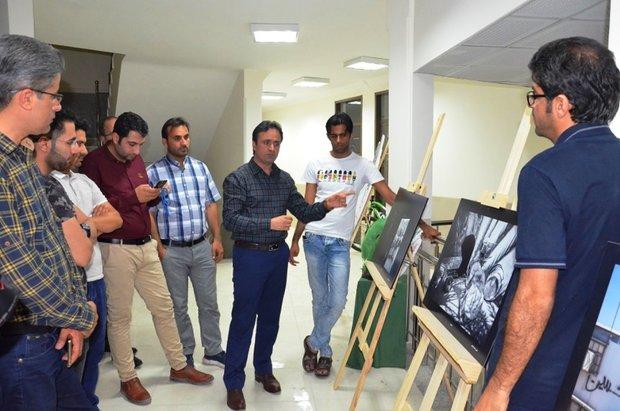 جلسه نقد و بررسی آثار عکاسان در نمایشگاه اردوی ملی عکس تعزیه لامرد