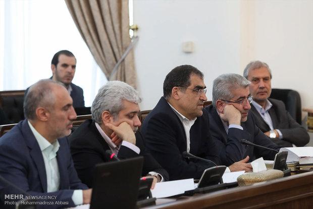 جلسه شورای اقتصاد با حضور معاون اول رئیس جمهور