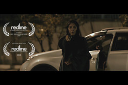 Setareh Eskandari wins best supporting actress in Redline Filmfest.
