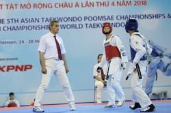 قضاوت مهدوی در مبارزات تکواندو پارالمپیک توکیو