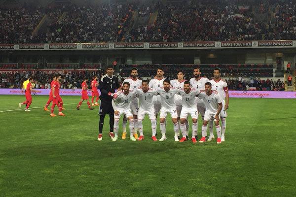 İran Milli Futbol Takımı Kosova karşısında
