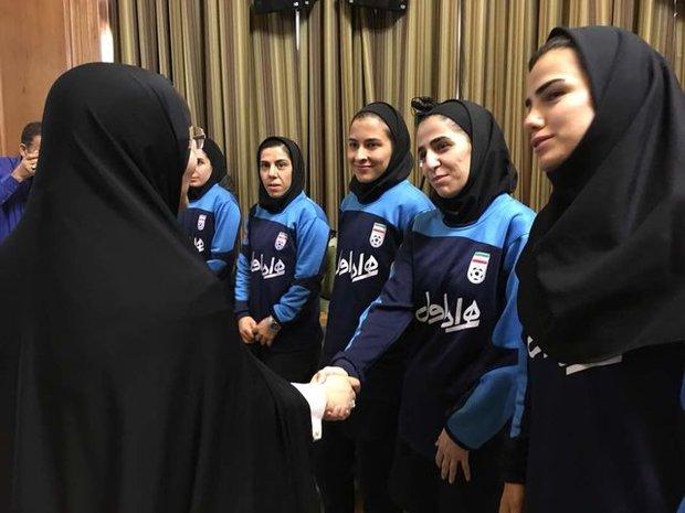 Tehran City Council praises national women's futsal team
