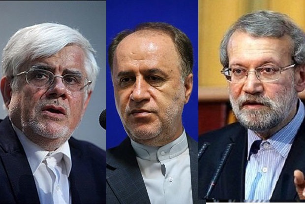Iranian parliament speaker's race; Aref, Larijani, Hajibabaie to vie for best seat