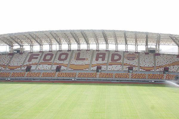 ورزشگاه اختصاصی و مدرن فولاد سه شنبه افتتاح میشود