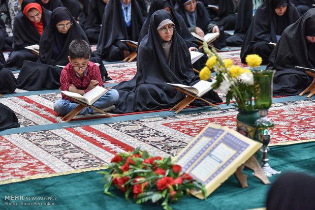 أمسية رمضانية عطرة بعبير القرآن في شيراز