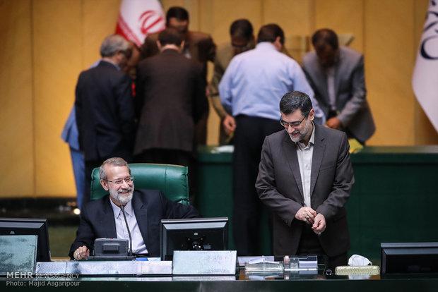 جلسة انتخاب هيئة رئاسة مجلس الشورى الاسلامي