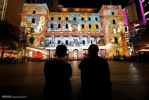 Fotoğraf: Sidney'de ışık festivali