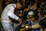 آیین گرگیعان در ماه مبارک رمضان