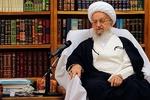 رئیس قوه قضائیه به عیادت آیت الله مکارم شیرازی رفت
