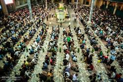 Kum kentinde büyük iftar ziyafeti