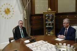 اردوغان با فرستاده ویژه پوتین رایزنی کرد