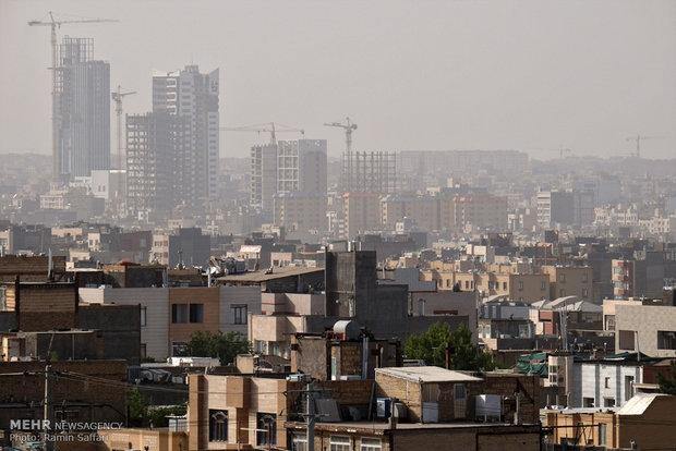 کیفیت هوای ۲ منطقه مشهد در شرایط ناسالم قرار گرفت