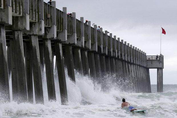 طوفان آلبرتو در کارولینای شمالی