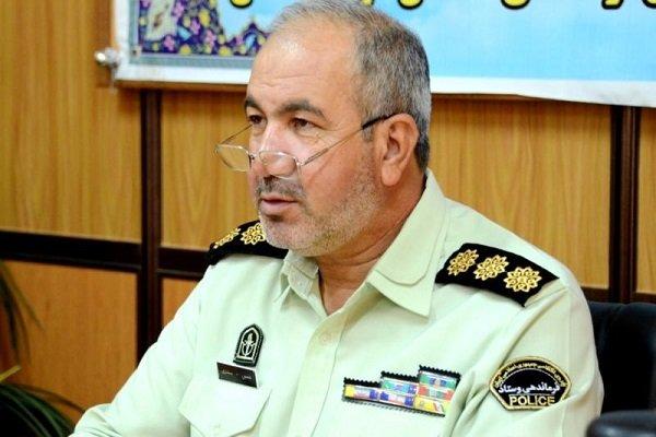۱۳ سارق با ۳۵ فقره سرقت در بجنورد دستگیر شدند