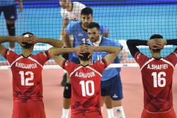 Iran wins Argentina in VNL