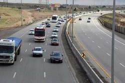 ترافیک پرحجم در شرق استان تهران