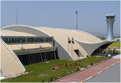 A view of  Sulaymaniyah International Airport