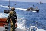 ورود قایقهای جنگی صهیونیستها به آبهای لبنان