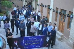 کارکنان حراست ادارات استان مرکزی با بنیان گذار انقلاب تجدید میثاق کردند