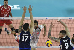 Iran beaten by Italy in VNL