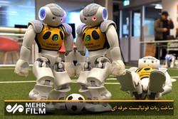 ربات فوتبالیست حرفه ای