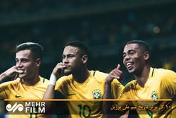 Brezilya'dan 10 tarihi gol