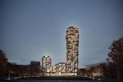 برج ۳۰ طبقه مسکونی شبیه فضاپیما ساخته می شود