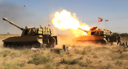"""الحشد الشعبي يستهدف تجمعات لـ""""داعش"""" داخل الأراضي السورية"""