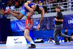 Iran crowned in Romania's freestyle wrestling competition