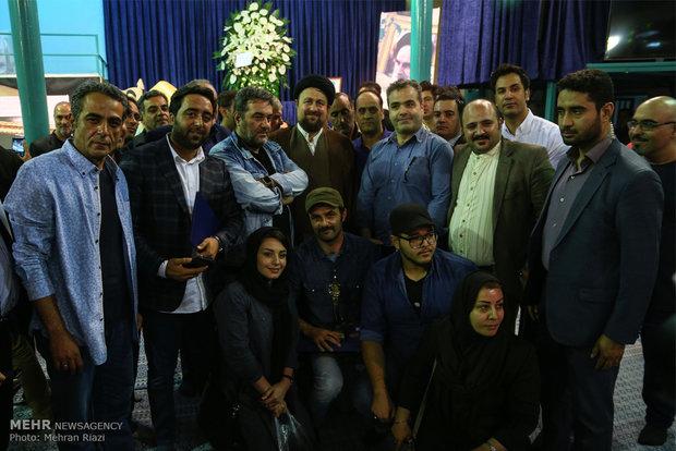 الحفل الختامي من مهرجان مسرح خرداد الشعبي