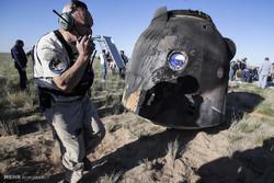 بازگشت 3 فضانورد به زمین