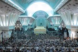 مراسم بیست و نهمین سالگرد ارتحال امام خمینی (ره) برگزار شد