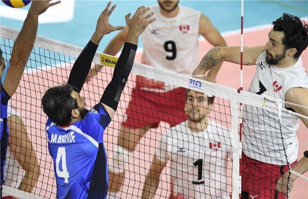 كندا تهزم ايران بنتيجة 3-1