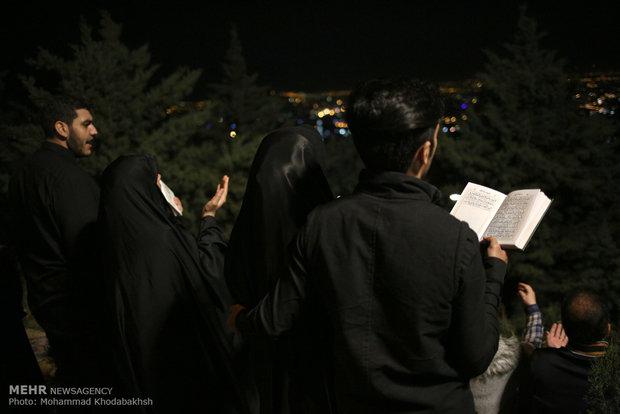 مراسم احياء ليلة ۱۹ من رمضان المبارك في طهران