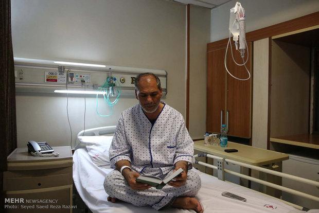 شب نوزدهم ماه رمضان در بیمارستان ساسان
