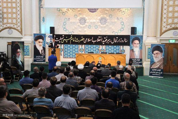 کنفرانس بزرگداشت حضرت امام خمینی (ره) در سالروز رحلت آن حضرت در مرکز اسلامی انگلیس