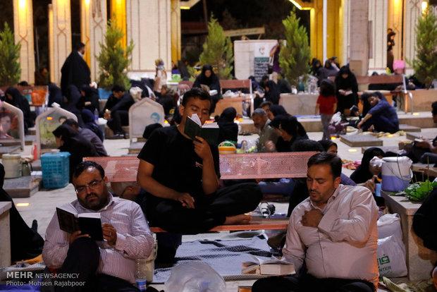 مراسم احیای شب نوزدهم ماه رمضان در کرمان