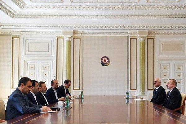 مدير مكتب الرئاسة الايرانية: طهران وباكو تنشدان السلام والاستقرار في المنطقة