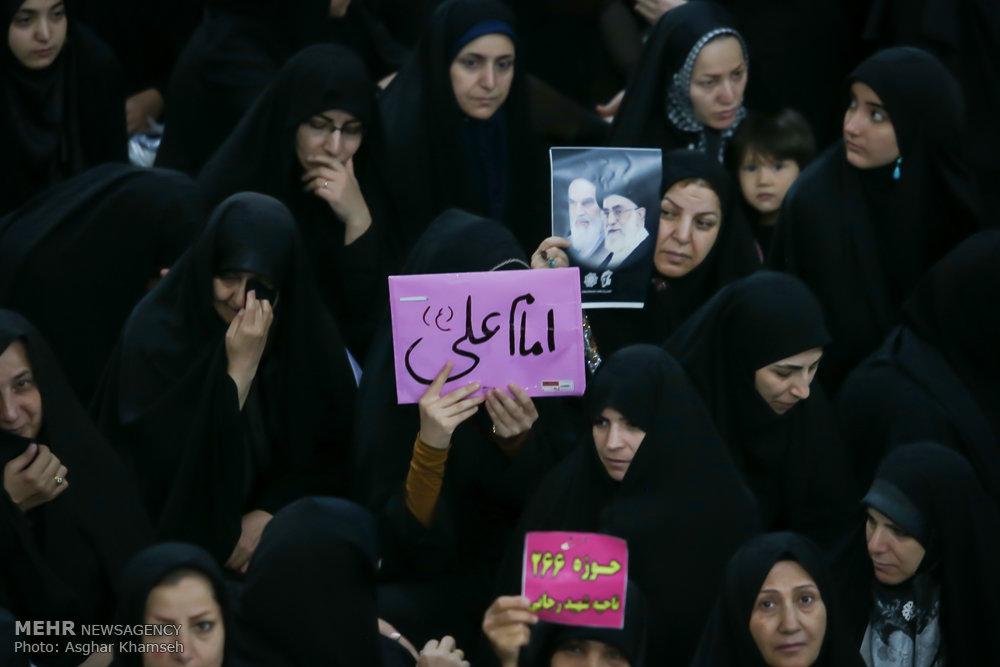 مراسم بیست و نهمین سالگرد ارتحال بنیانگذار کبیر انقلاب ی-۳
