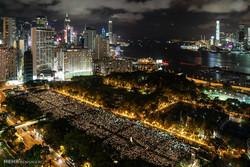 گرامیداشت حادثه میدان تیانانمن در هنگ کنگ