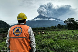 قربانیان فوران آتشفشان در گواتمالا