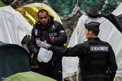 Fotoğraf: Paris'teki mültecilere operasyon