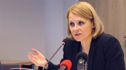Maja Kocijancic, spokeswoman for EU diplomatic chief Federica Mogherini