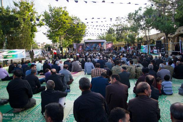 مراسم إحياء الذكرى التاسعة والعشرين لرحيل الامام الخميني (رض) في خمين