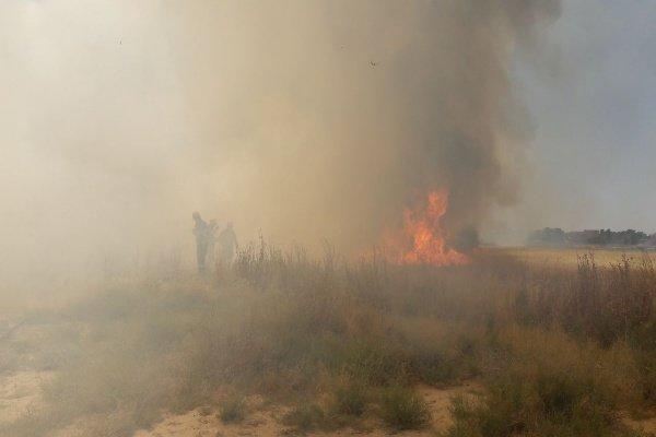 استمرار الحرائق في كاليفورنيا