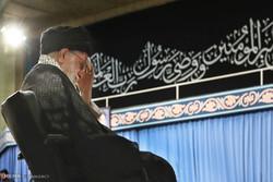 مراسم عزاء شهادة الإمام علي (ع) بحضور قائد الثورة الاسلامية/صور