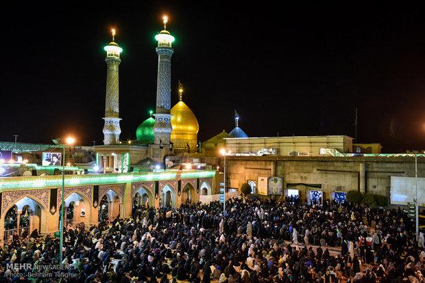 مراسم احیا شب بیست و یکم ماه رمضان در تهران